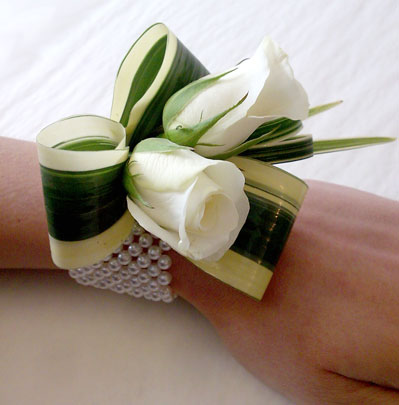 Wedding Flowers Bolton Wrist Corsage